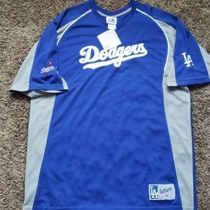 NWT L.A. Dogers batting Jersey